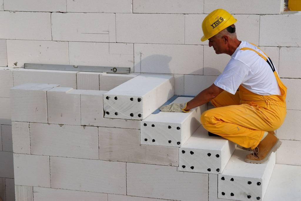 Ремонт зданий с помощью газобетонных блоков THERMOCUBE