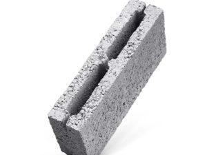 Керамзитобетонный перегородочный блок 2-х пустотный, ГОСТ 6133-99