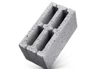 Керамзитобетонный стеновой блок 4-х пустотный, ГОСТ 6133-99
