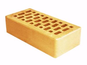 Кирпич облицовочный Terex 1-НФ желтый